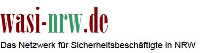 wasi-nrw.de - Das Netzwerk für Sicherheitsbeschäftigte in NRW