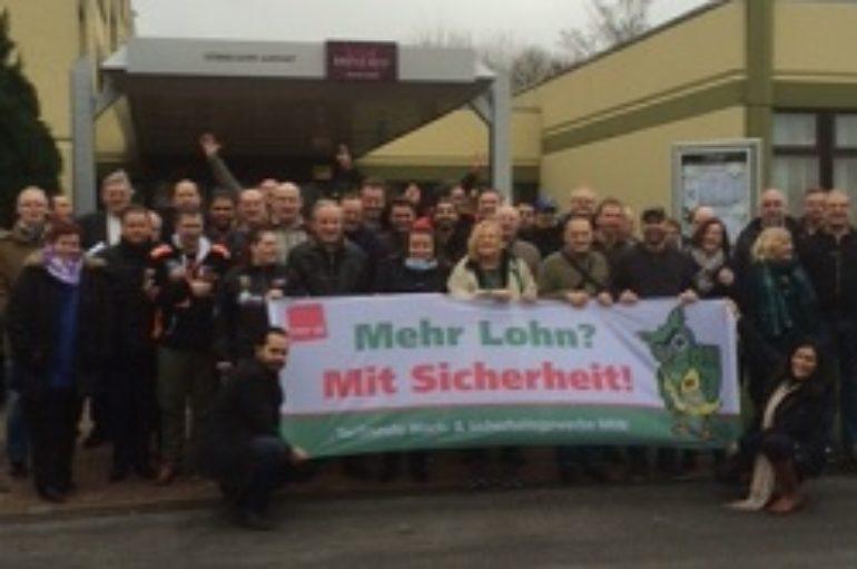 NRW: Unterstützung zu Beginn der 3. Verhandlungsrunde