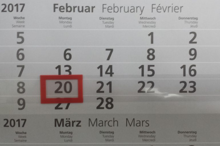 Fragestunde am 20. Februar in Essen!