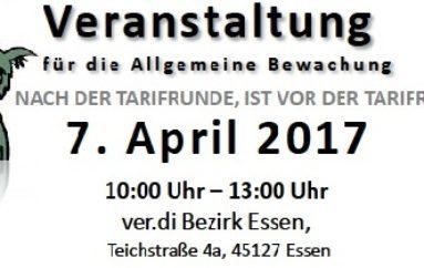 Nächstes Treffen am 7. April in Essen