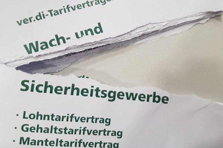 Securitas Düsseldorf ignoriert NRW Manteltarifvertrag