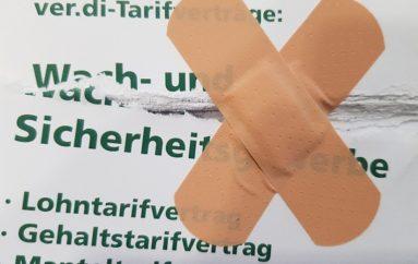 Securitas entschuldigt sich für falsche Tarifanwendung