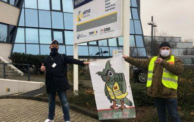 Streikauftakt in NRW